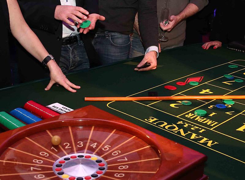 Soirée de séminaire casino